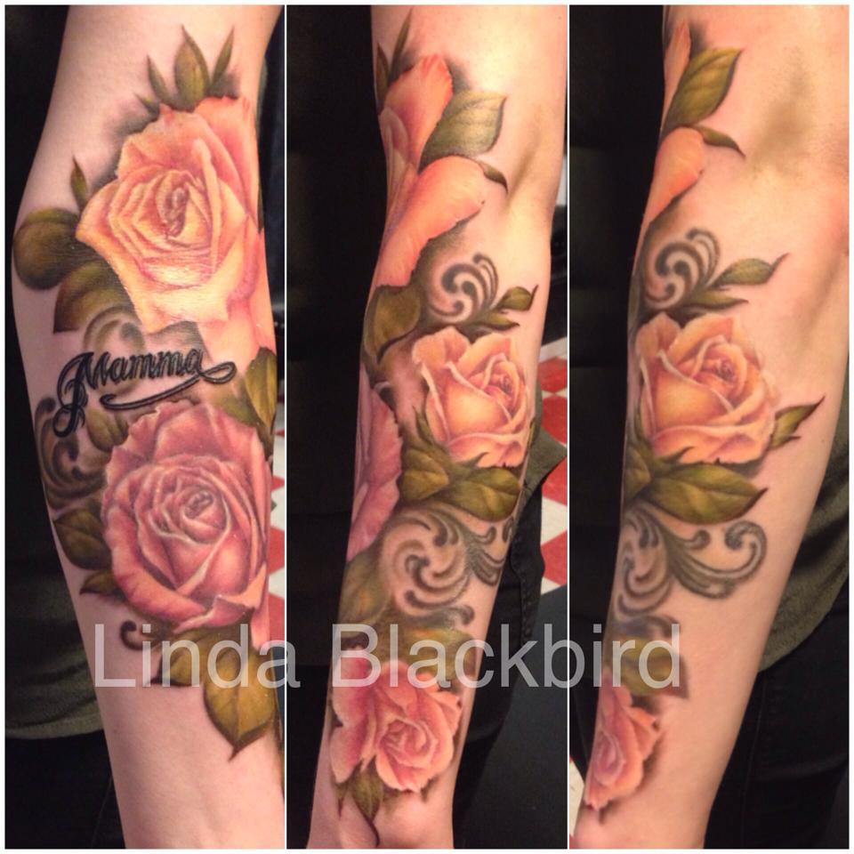 tattoo färg svart